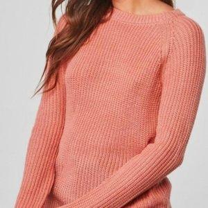 BB Dakota Percival Open Back Sweater